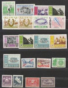 Liberia - small stamp lot-1 - MNH (7463)