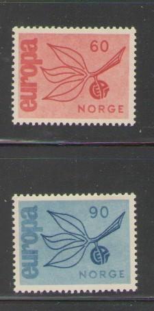 Norway Sc 475-65 1965 Europa stamps mint NH