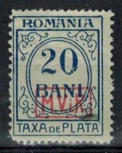 Romania - German Occupation - Scott 3NJ5 MH