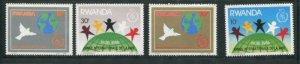 Rwanda #1270-3 MNH