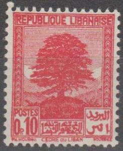Lebanon #137  MNH VF  (ST2288)