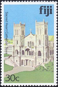 Fiji # 419 mnh ~ 30¢ Sacred Heart Cathedral