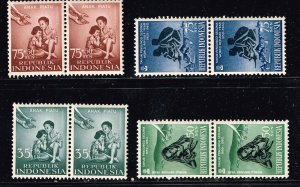 INDONESIA STAMP MNH STAMPS COLLECTION LOT  #1