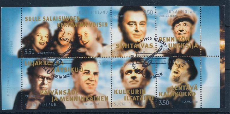 [30769] Finland  1999 Artists Musicians  Used Booklet