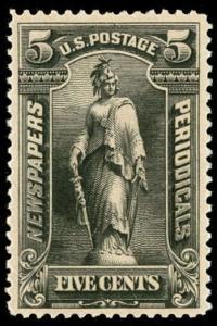 momen: US Stamps #PR104 Mint OG PF Cert XF