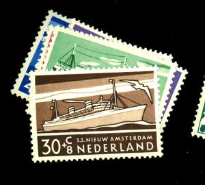 Netherlands #N306-10 MINT F-VF OG LH B306 SM Thin Cat$ 15.5