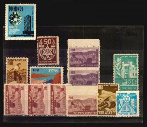 Israel Diamond & patriotic old  poster stamp cinderella lot