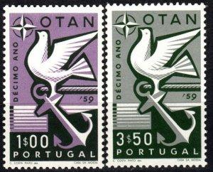 Portugal #846-7 MNH CV $3.60 (P697)