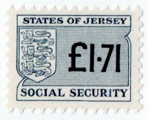 (I.B) Jersey Revenue : Social Security £1.71