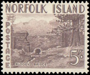 Norfolk Islands #13-18, Complete Set(6), 1953, Hinged