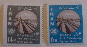 Iran 1207-8  MNH Full Set  Cat $10.00 UN, ,Oil Topical