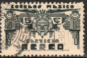 MEXICO C170, 5c 1934 Definitive Wmk Gobierno... 279 USED. F-VF. (1115)