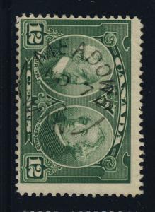 CANADA - 1928 - MEADOWS / MAN. CDS ON SG 272 - VERY FINE