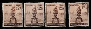 B270 Germany Semi-Postal Mint OGNH lot of 4