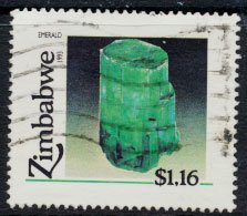 Zimbabwe SG 849  SC# 681  Used  Minerals   see detail and scan