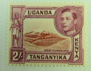 1938 Uganda Kenya Tanganyika SC #81  MOUNT KILIMANJARO  MH stamp