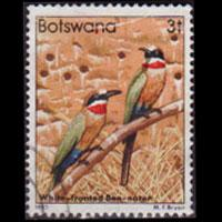 BOTSWANA 1982 - Scott# 305 Bee-eaters 3t Used