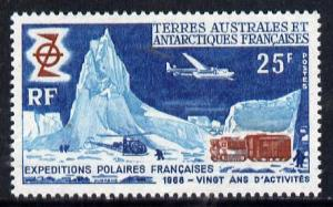 French Southern & Antarctic Territories 1969 French P...