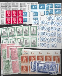 Desk Cleaning Lot # 1 with over 600 MNH stamps in qty