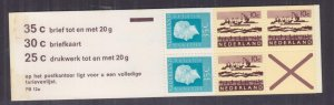 NETHERLANDS, 1971 Booklet, PB 12-a, Purple cover, mnh.