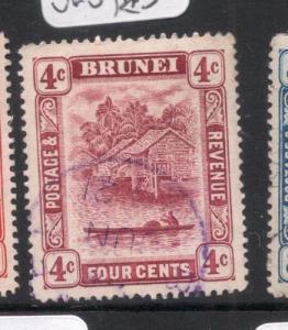 Brunei SG 39 Violet Cancel VFU (7dha)