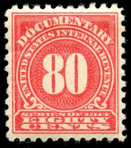 momen: US Stamps #R205 Mint OG Revenue