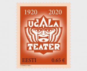 Estonia 2020 Ugala Theatre 100 MNH**