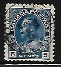 CANADA, 111, USED, KING GEORGE 1911-25 SET