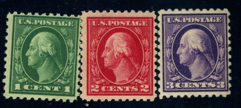 424-6 MINT F-VF OG 424-5 NH 426 HR Cat$24