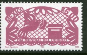 MEXICO 2381 World Post Day MNH