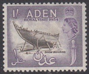 Aden 55A MNH CV $1.40