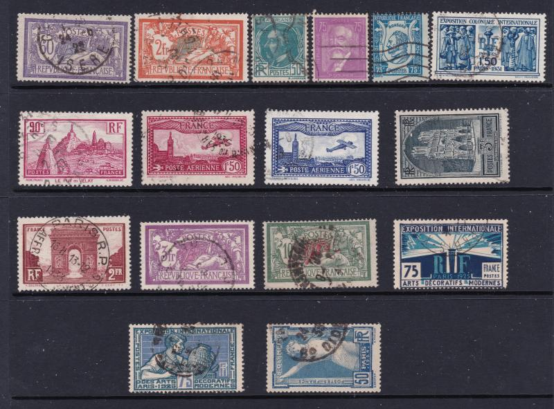 France a small lot of used earlies