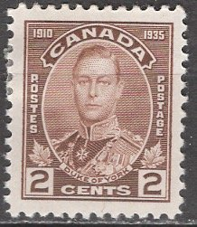Canada; 1935: Sc. # 212: */MH Single Stamp