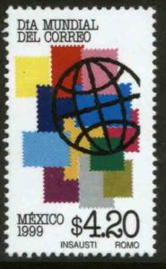 MEXICO 2167, World Post Day. MINT, NH. VF. (69)