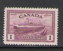 Canada Sc 273 1946 $11 Ferry stamp mint