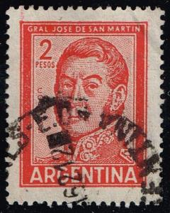 Argentina #692 Jose de San Martin; Used (0.25)