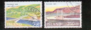 Iceland  Scott#  754-5  Used
