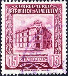 Venezuela  #599    Used