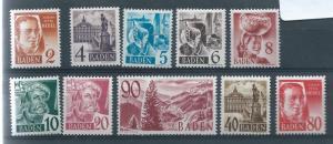 Germany (Baden) 5N28-40 Various set MNH
