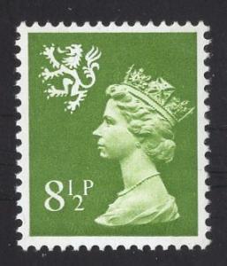 Great Britain Scotland  #SMH11   8 1/2p   MNH Q E II   Machin