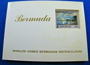 BERMUDA  1987  -  SCOTT # 523a  -   MNH BOOKLET   (SM19)