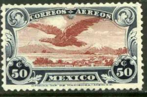 MEXICO C1, THE FIRST Air Mail SINGLE. MINT, NH. VF.