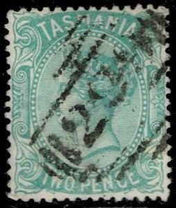 Australia-Tasmania #61 Queen Victoria; Used (2Stars)