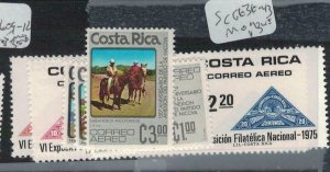 Costa Rica SC C636-43 MOG (4ecl)