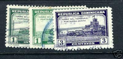507C DOMINICAN REPUBLIC278-9, 283 VFU