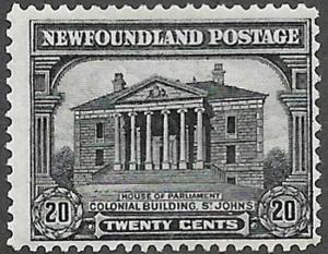 Newfoundland Scott Number 157 F H