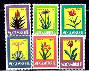 Mozambique 966-70A MNH 1985 Medicinal Plants    (ap2242)