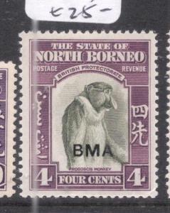 North Borneo SG 323 MOG (2dnn)