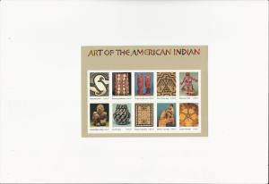 Art of the American Indian  Scott #3873