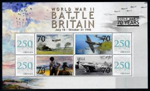 [78489] Grenada 2008 World War II Battle of Britain Sheet MNH